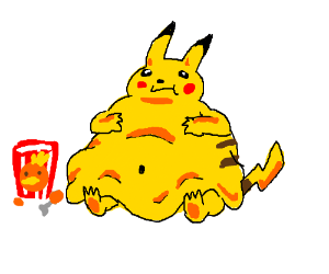 Pikachu has diabetes?