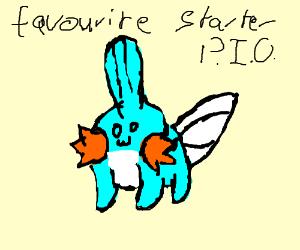Your favourite Pokemon starter (P.I.O)