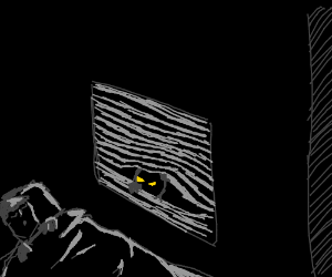 Peeking at you while you sleep