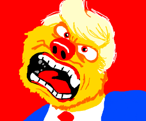 Trump Yellmo yells at MC mobs