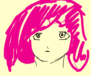 Pink-haired SATORI (totally not obvious...)