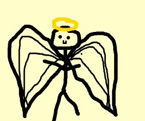 stickman is an Angel