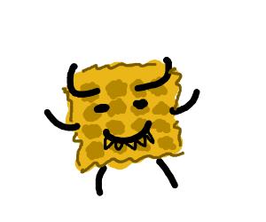 evil waffle
