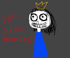 Creepy princess