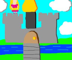 princess on a castle