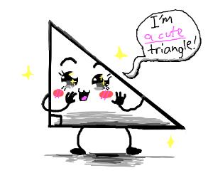 Kawaii triangle