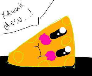 Anime cheese.