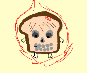 Skeletoast is on fire