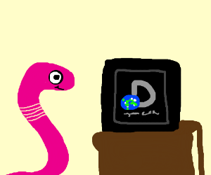 worm watching discovery chanal