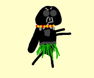Hula dancer darth vater