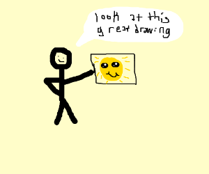 Look at that great drawing