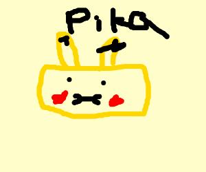 Rectangular Pikachu