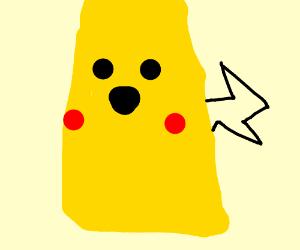 pikachu punching bag
