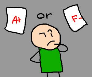 Good Grades Or Bad Grades?