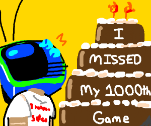 I missed your 1000th game too. Congrats.