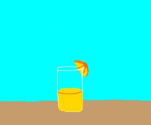 Glass o' lemonade