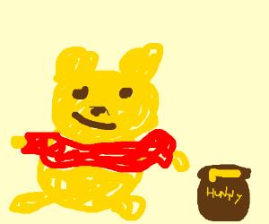 Drawception memes cosplay as Winnie the Pooh