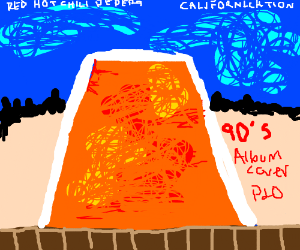 90's Rock Album cover PIO - Drawception