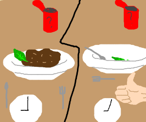 Eating Mystery Meat in 2 Minutes