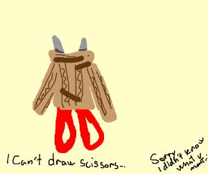 Scissors-kun got a nice sweaterl