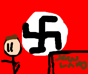 Jews haling to Hitler cause they are scared