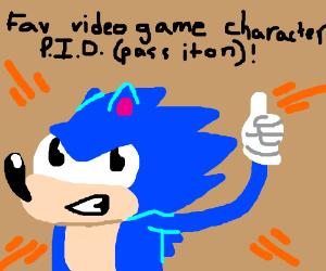 Fav Video Game Character PIO (Sans/Corvo)