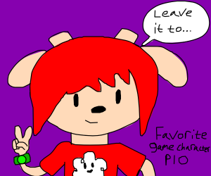 Favourite game character P.I.O,