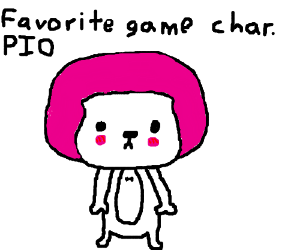 Favorite game character PIO (Alex (oxenfree)