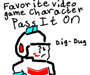 Fav Video Game Character PIO(Martin Van Buren)