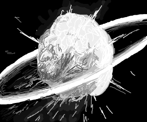 The Death Star Explosion.