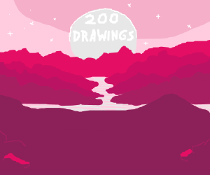 The Dawn of the Planet of the 200 Drawings