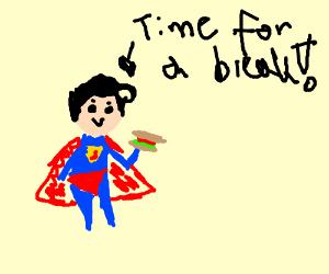 Even Superheroes Need A Break...