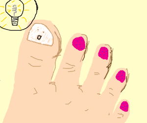 New idea in a toe ?? What?