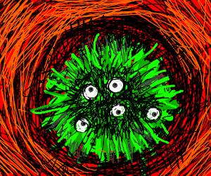 zoom in bacteria
