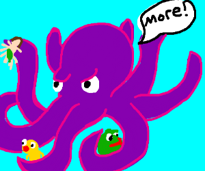 Octopus needs more memes