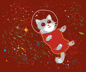 Intergalactic space kitty