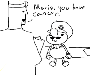 Mario finds out he has cancer.
