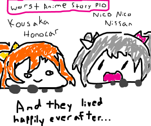 draw the worst anime story ever PIO!!