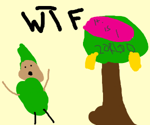 link realized that zelda was a tree all along