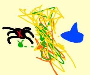 Spider vs. Shark