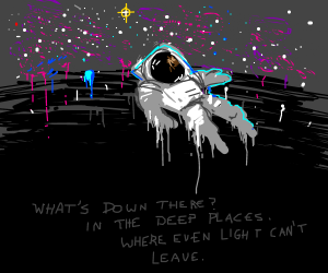 Depths of space.