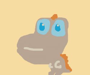 Adorable Godzilla!