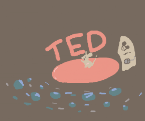 Mouse gives a TED Talk