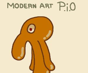 Modern art PIO