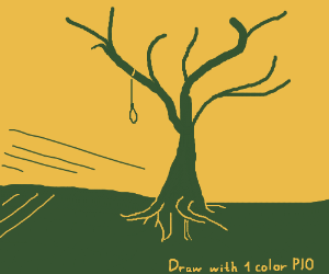 Draw with One Color PIO (BG doesn't count)