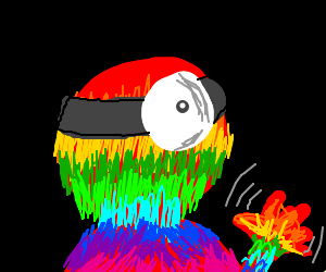 Rainbow Doctor man
