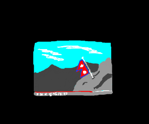 nepal flag happens at 5:45