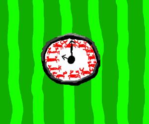 It's crab O'clock