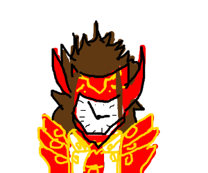 ryoma (lobster lord) with clock face