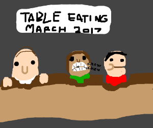 table eating contest